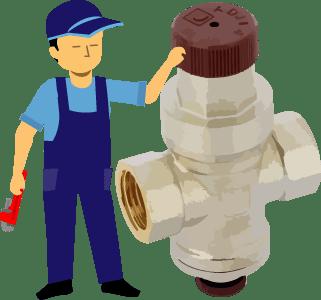 Замена редуктора давления воды в СПб