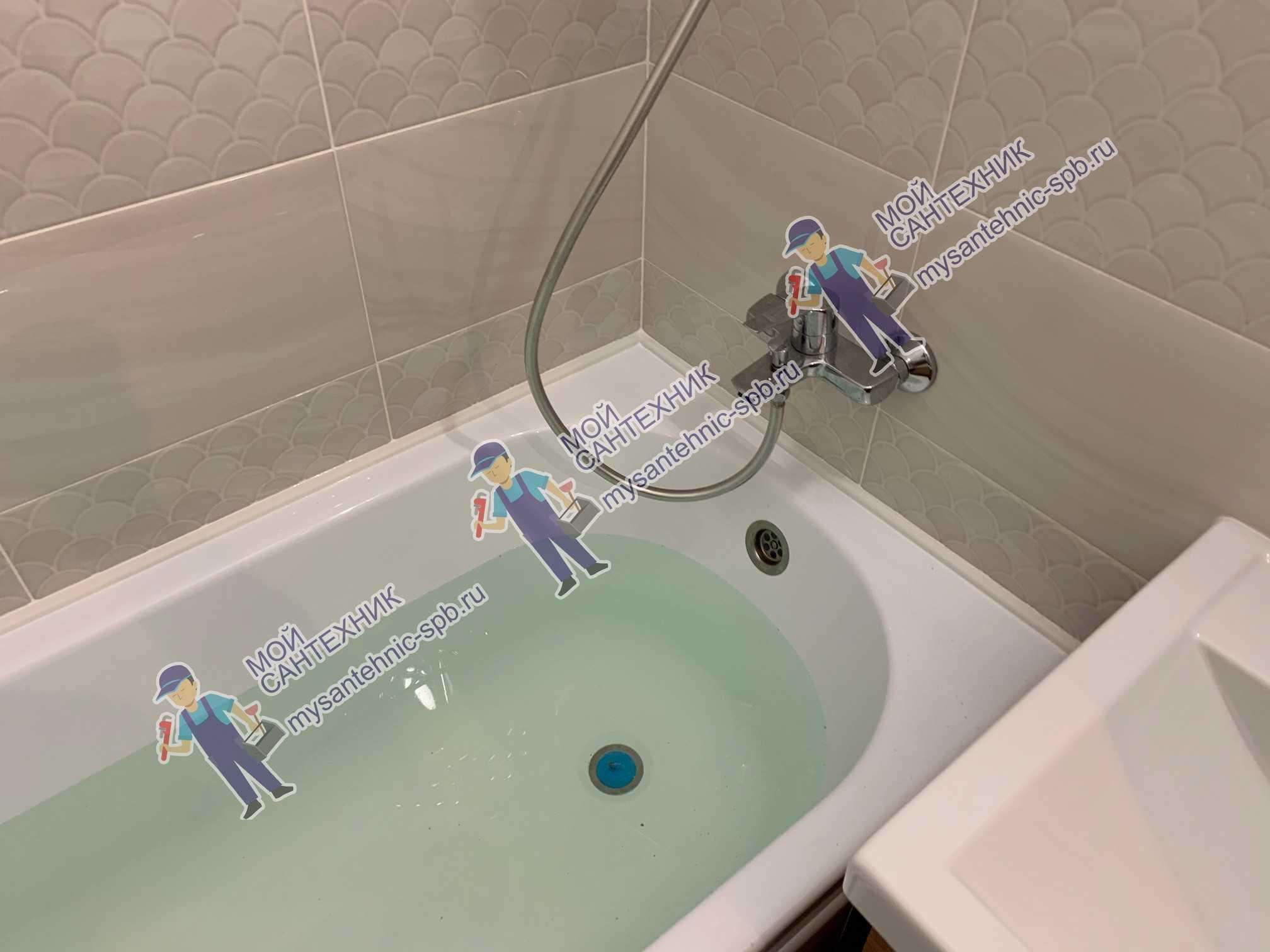 Герметизация ванны ЖК Огни залива