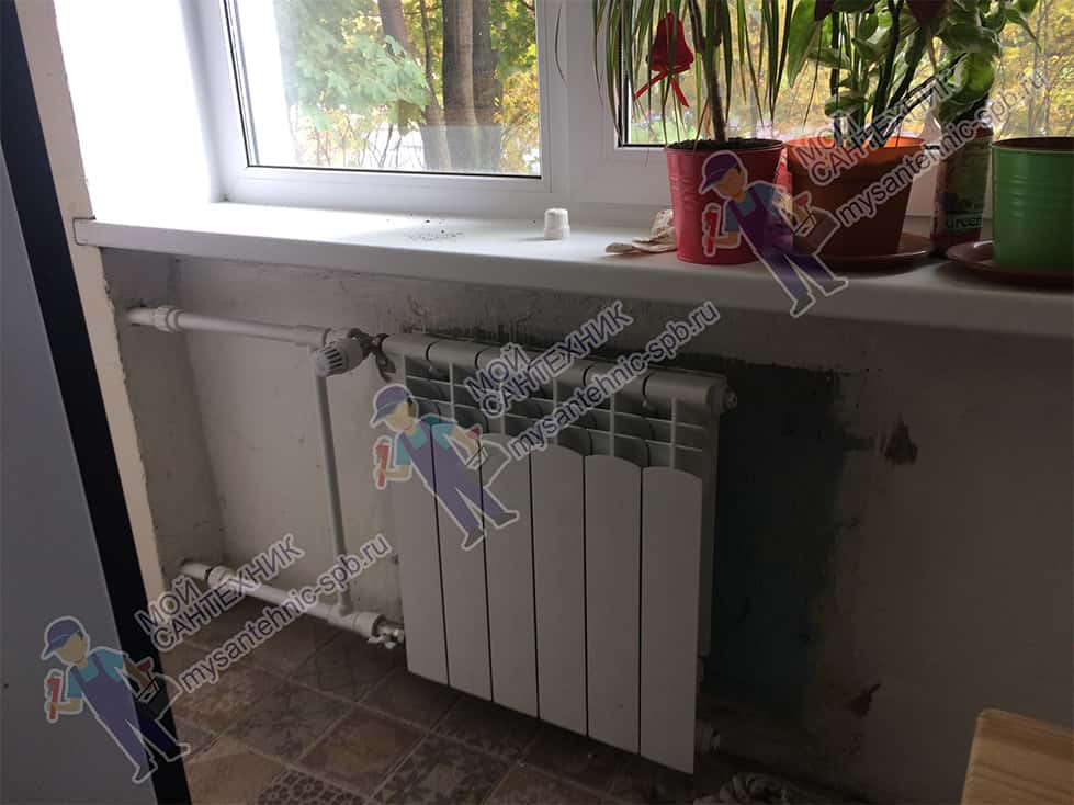 Замена радиатора «под ключ»